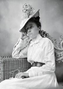 Gabriele Münter in Marshall, Texas, USA, 1899–1900. © Gabriele Münter- und Johannes Eichner-Stiftung, München.